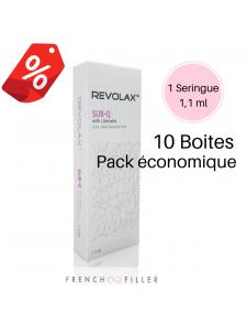 Pack of 10 REVOLAX  SUB-Q LIDOCAINE