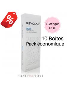 Pack of 10 REVOLAX DEEP LIDOCAINE