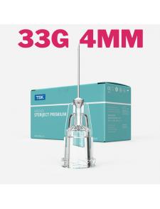 TSK steriject 33G 0,24x4mm injections